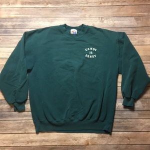 VINTAGE JERZEES COTTON SWEATS SWEATSHIRT